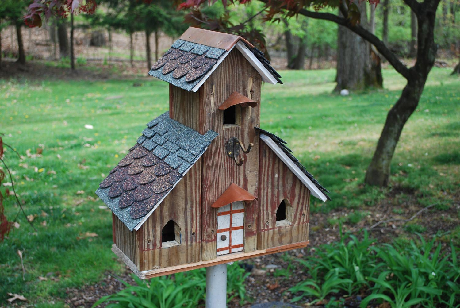 Large Wood Bird Houses