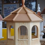 Large Wooden Bird Feeders
