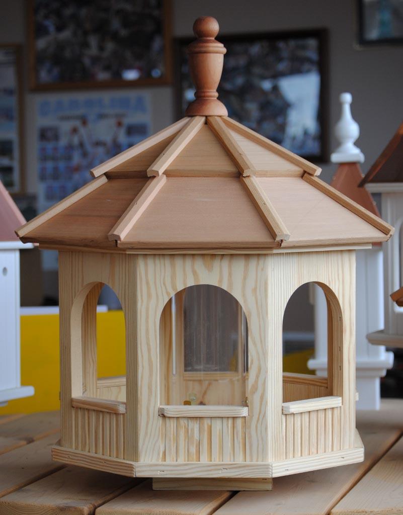 Large Wooden Bird Feeders