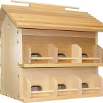 Large Wooden Bird Houses