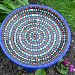 Make a Mosaic Bird Bath