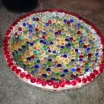 Make Mosaic Bird Bath