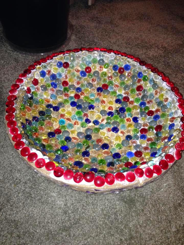 Make Mosaic Bird Bath