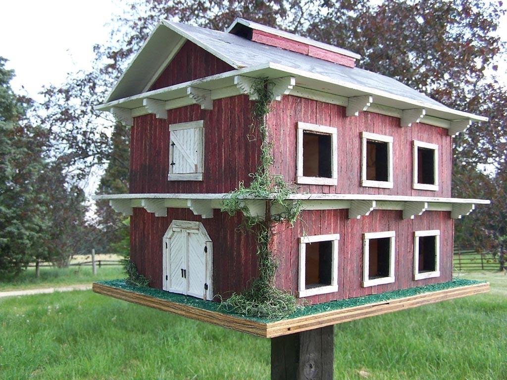 Martin House Bird House