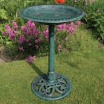 Metal Bird Bath Bowl