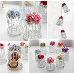 Metal Bird Cage Decor
