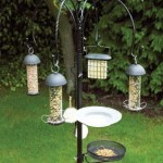 Metal Bird Feeder Station