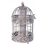 Metal Cage Bird Feeder