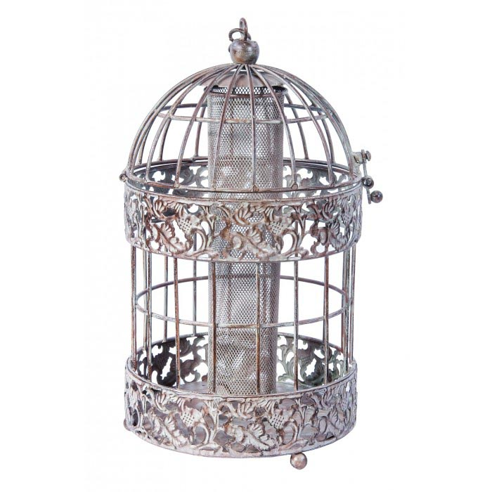 Metal Cage Bird Feeder