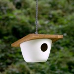 Modern Ceramic Bird Feeder