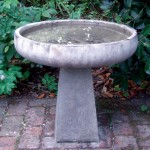 Modern Stone Bird Baths