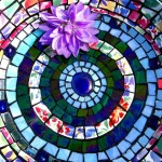 Mosaic Bird Bath Ideas