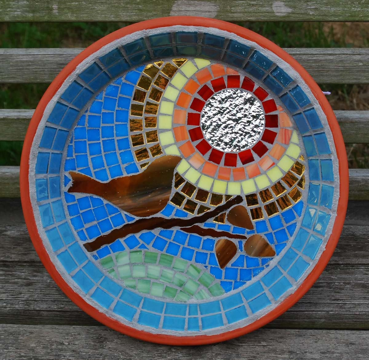 Mosaic Bird Bath Kit