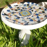 Mosaic Designs for Bird Baths