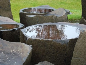 Natural Stone Bird Baths