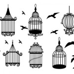 Old Antique Bird Cages