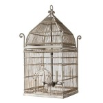 Old Metal Bird Cages