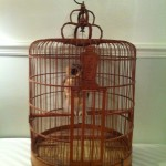 Old Wooden Bird Cages
