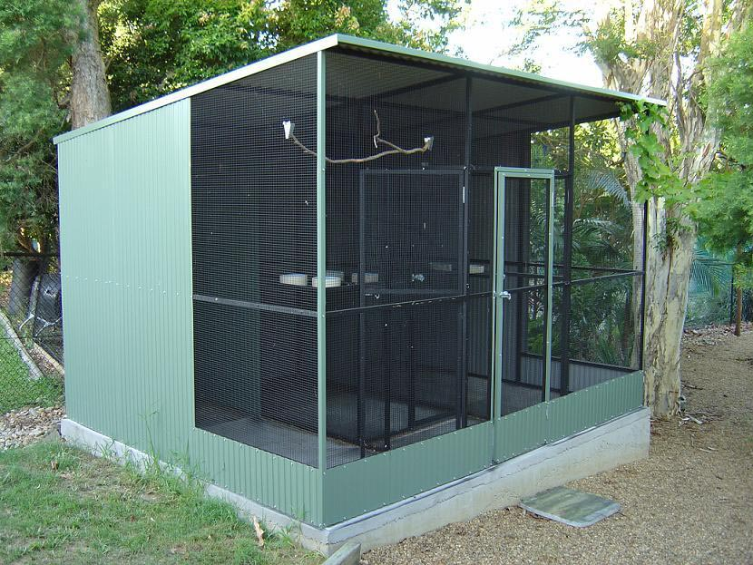 Outdoor Bird Cages Aviaries