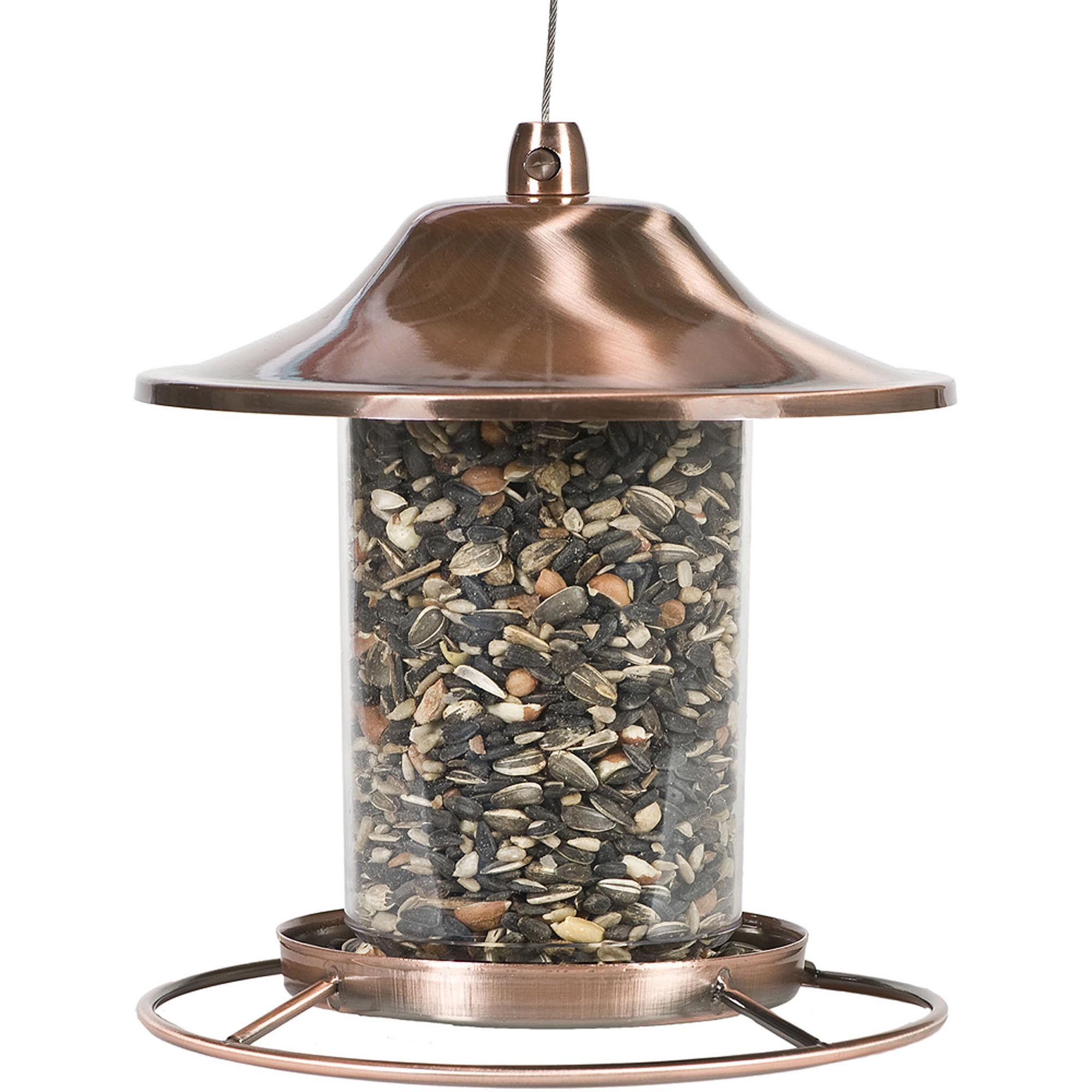 Perky Pet Copper Bird Feeder