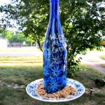 Recycled Glass Bird Feeder
