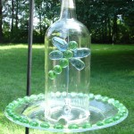 Recycled Glass Bird Feeders