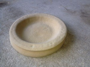 Replacement Bird Bath Bowls
