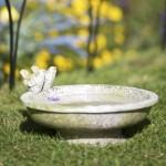 Replacement Concrete Bird Bath Top