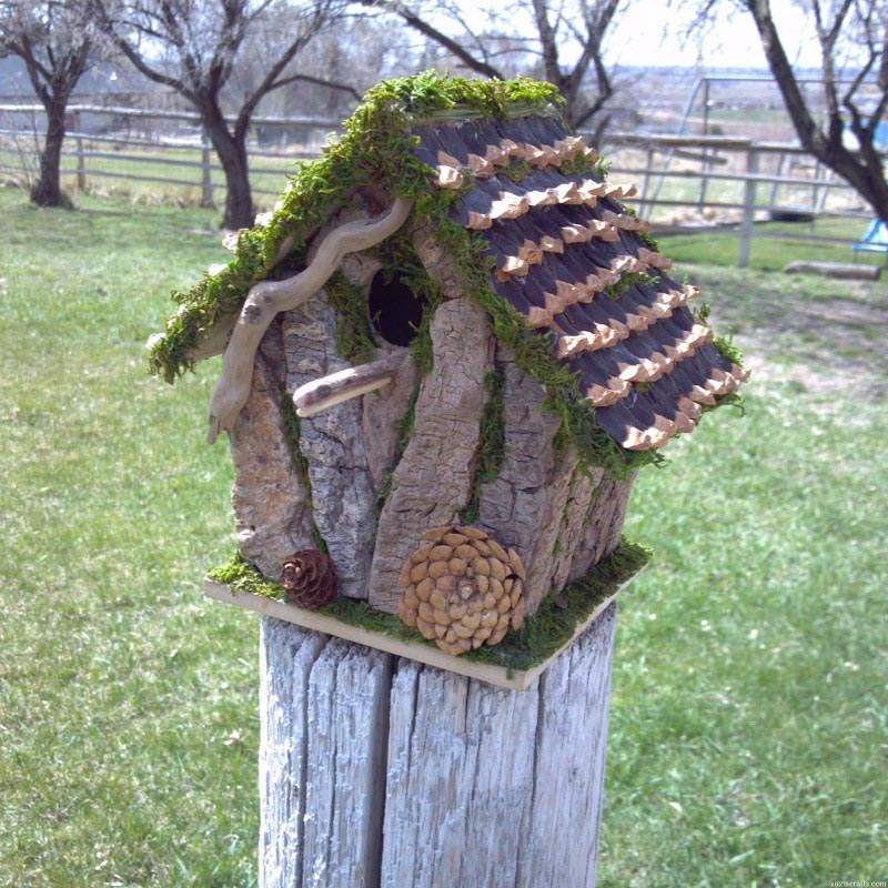 Simple Homemade Bird Houses
