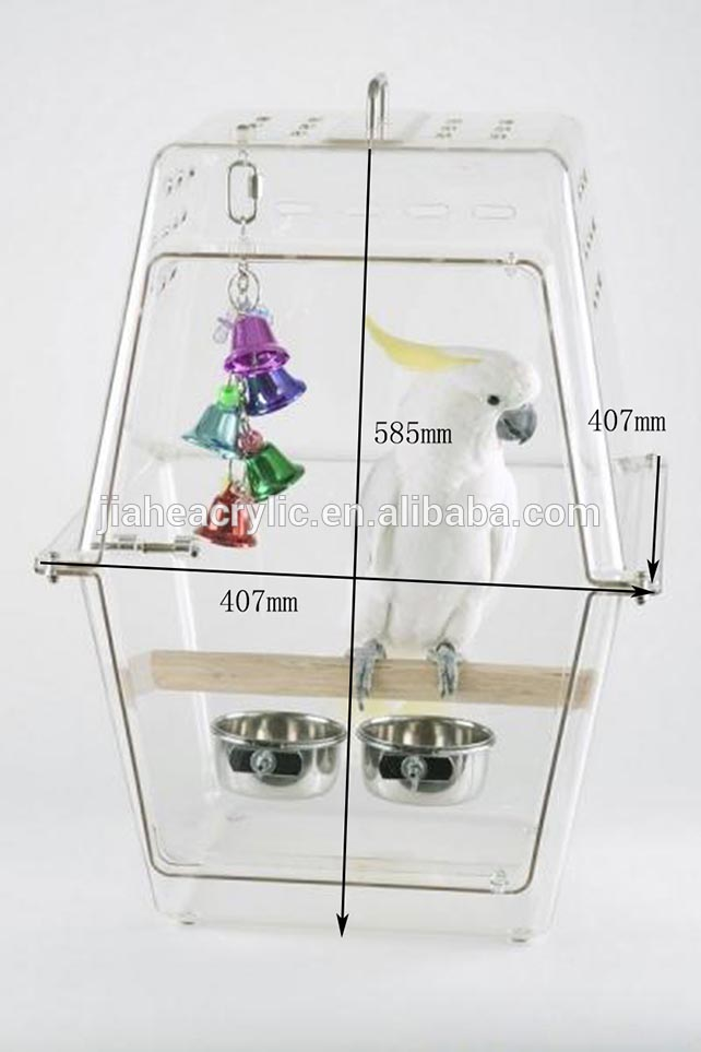 Small Acrylic Bird Cages