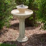Small Bird Bath Fountain