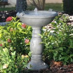 Small Bird Bath Garden