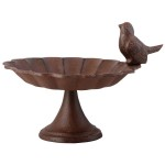 Small Cast Iron Bird Bath
