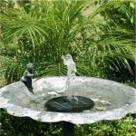 Small Solar Pump for Bird Bath