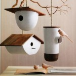 Small Wooden Bird Houses
