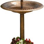 Solar Bird Feeder Copper
