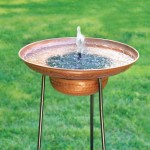 Solar Powered Bird Bath Heater DIY