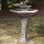Solar Powered Hummingbird Bird Bath
