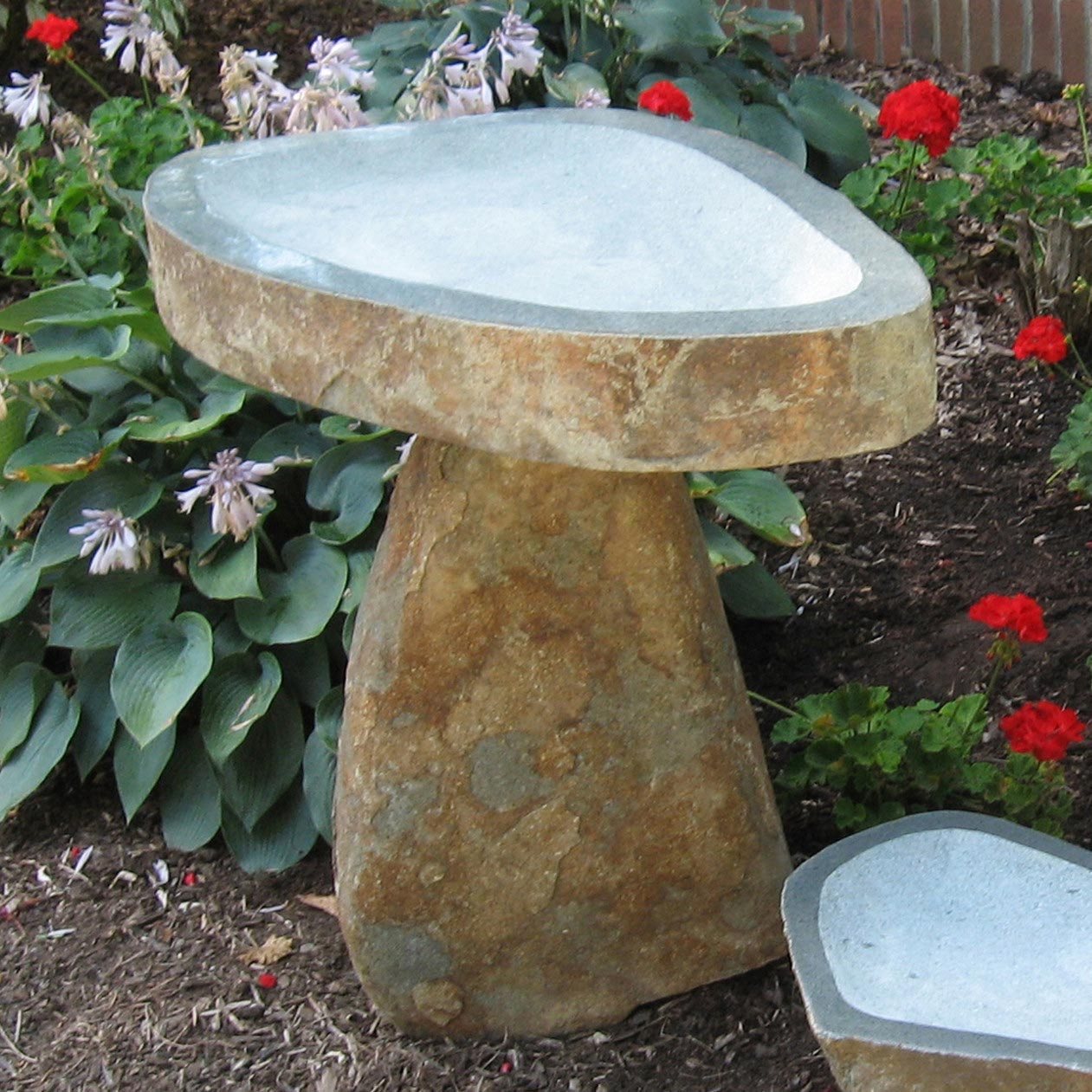Stone Age Creations Bird Baths