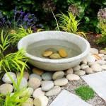 Stone Bird Bath Top