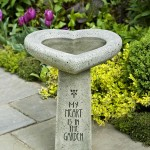 Stone Bird Bath Tops