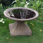 Stone Garden Bird Baths