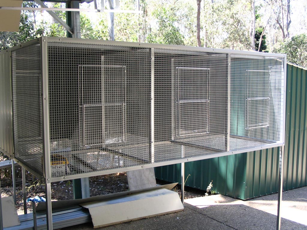 Suspended Bird Aviary Plans
