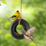 Swinging Bird Feeder Hangers