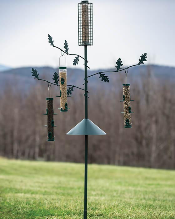 Tall Bird Feeder Station