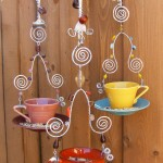 Teacup Bird Feeder Tutorial