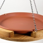 Terracotta Hanging Bird Bath