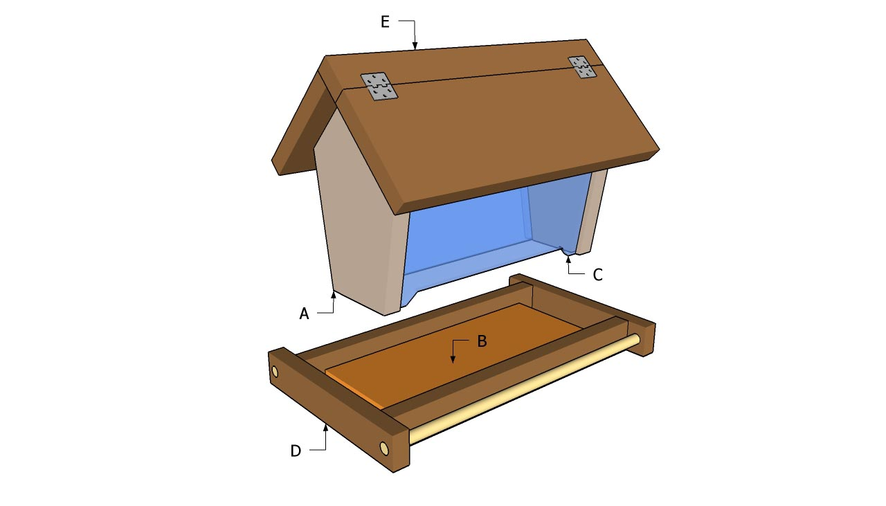 Unique Bird Feeder Plans