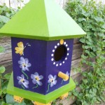 Unique Bird Feeders Houses
