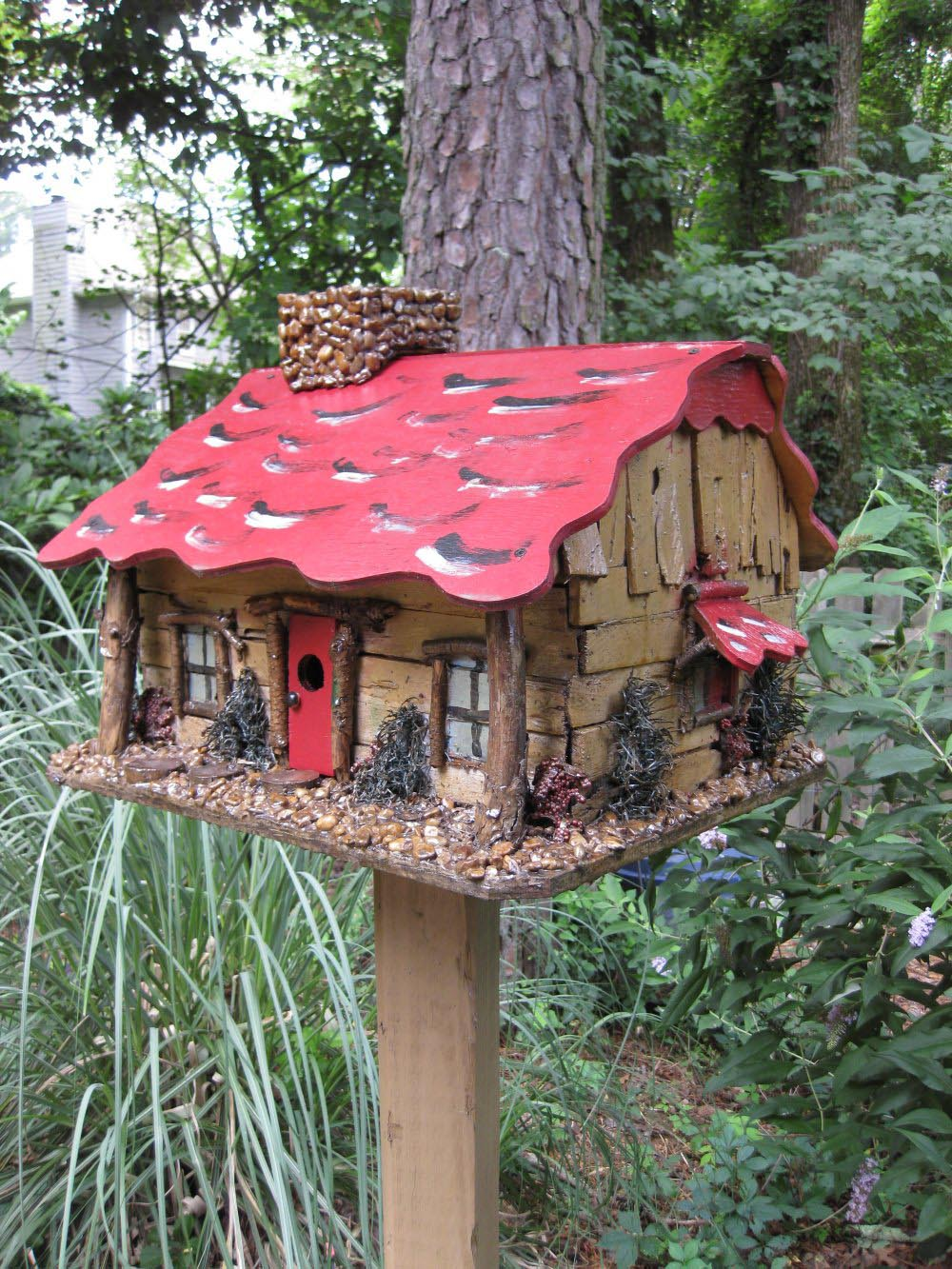 Unique Bird Feeders Houses Birdcage Design Ideas